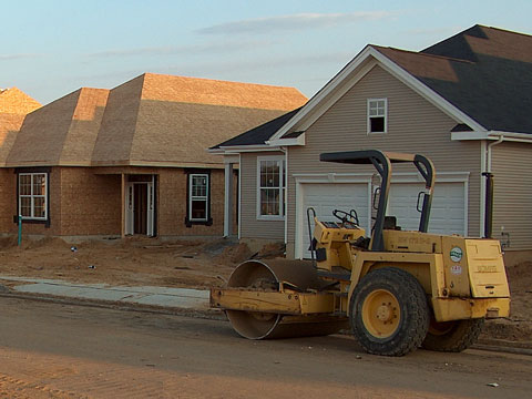 active adult homes under construction